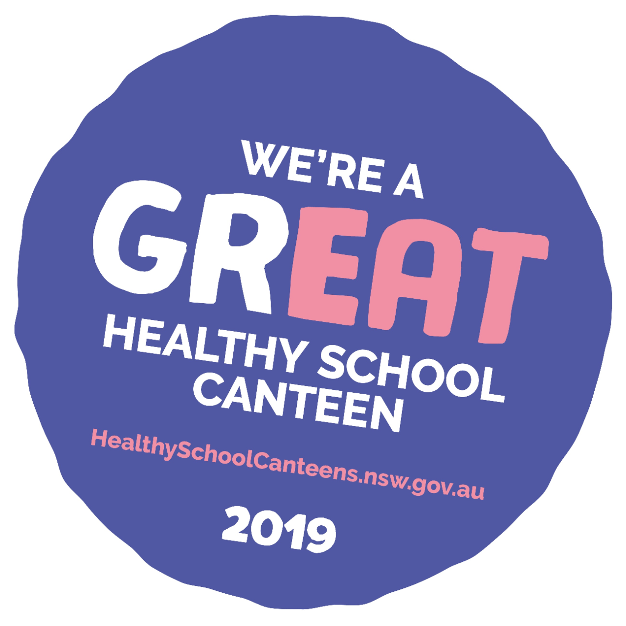 We are a healthy schools canteen